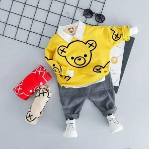 חליפת דוב צהוב