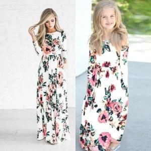 שמלת נסיכת הפרחים לאם