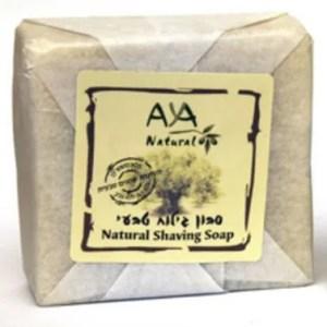 סבון גילוח טבעי AYA NATURAL
