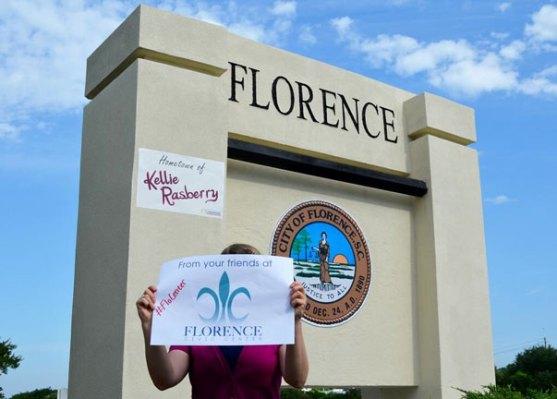 Florence, SC: Home of Kellie Rasberry [PICS]