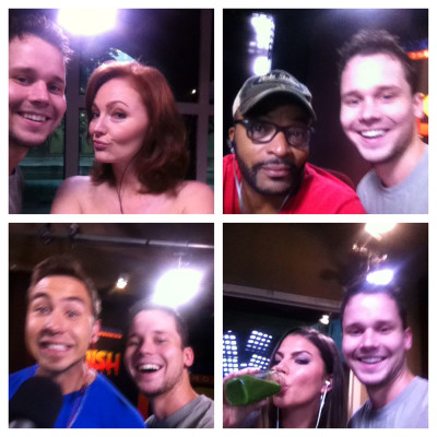cast-selfies