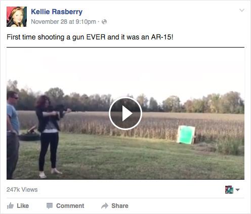 kellie-rasberry-facebook-gun