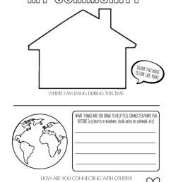 Free Covid-19 Time Capsule Worksheets - KiddyChart [ 1024 x 791 Pixel ]