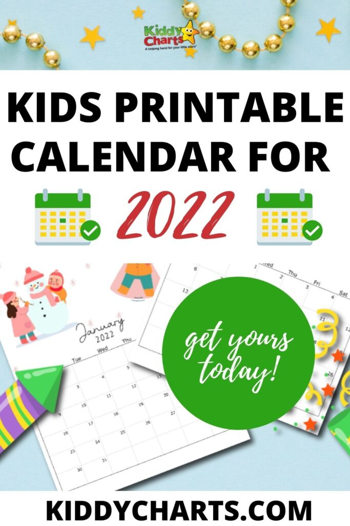 Download a free, printable calendar for 2021 to keep you organized in style. 2022 Calendar thats Printable Kids - Monthly Snapshots ...