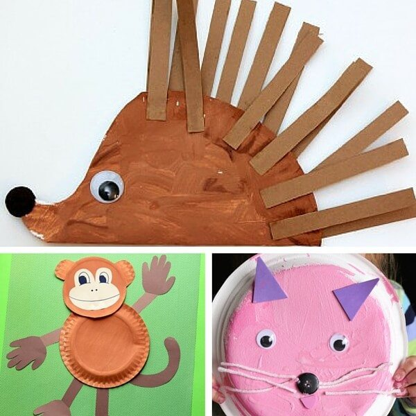 40+ animal paper plate crafts for the kids