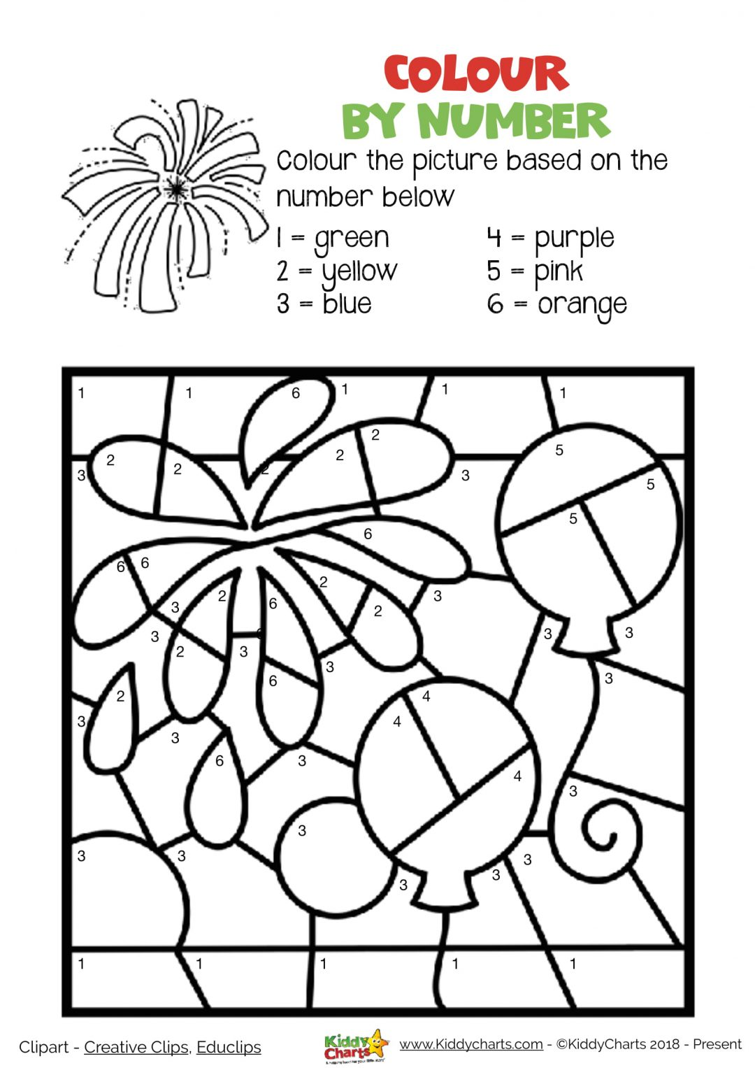 Fun Free Firework Printables For The Fourth Of July And
