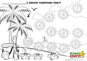 Countdown to your summer holiday
