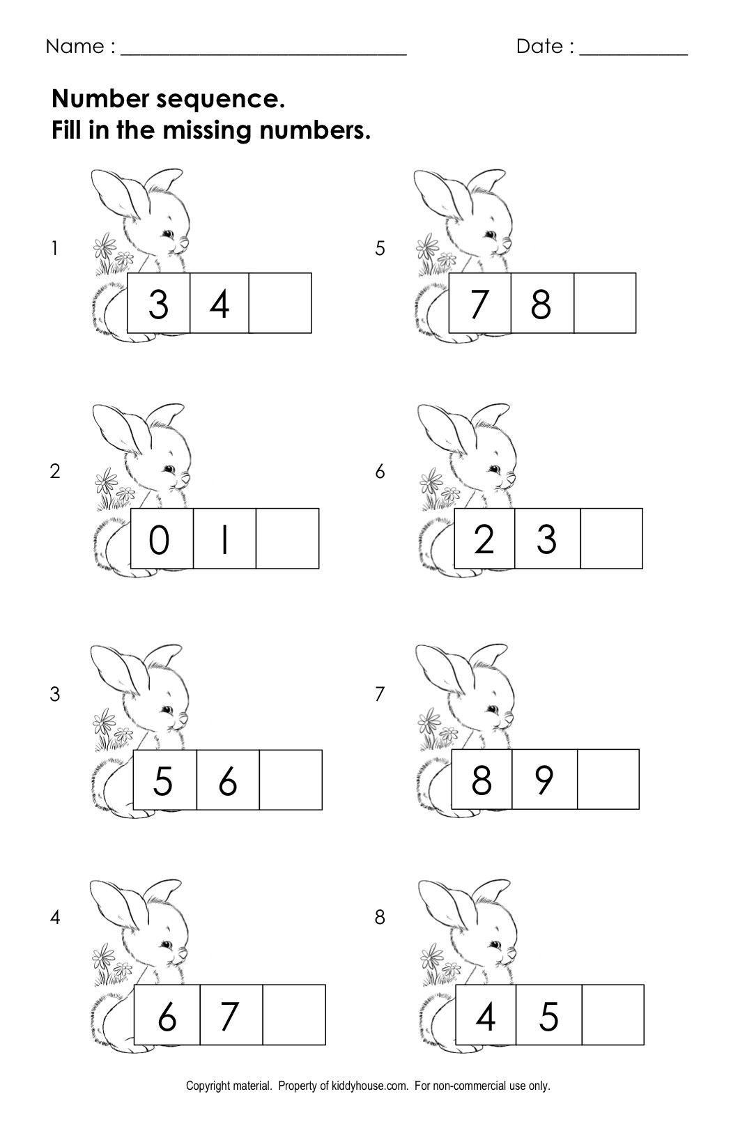 Free Easter Worksheets