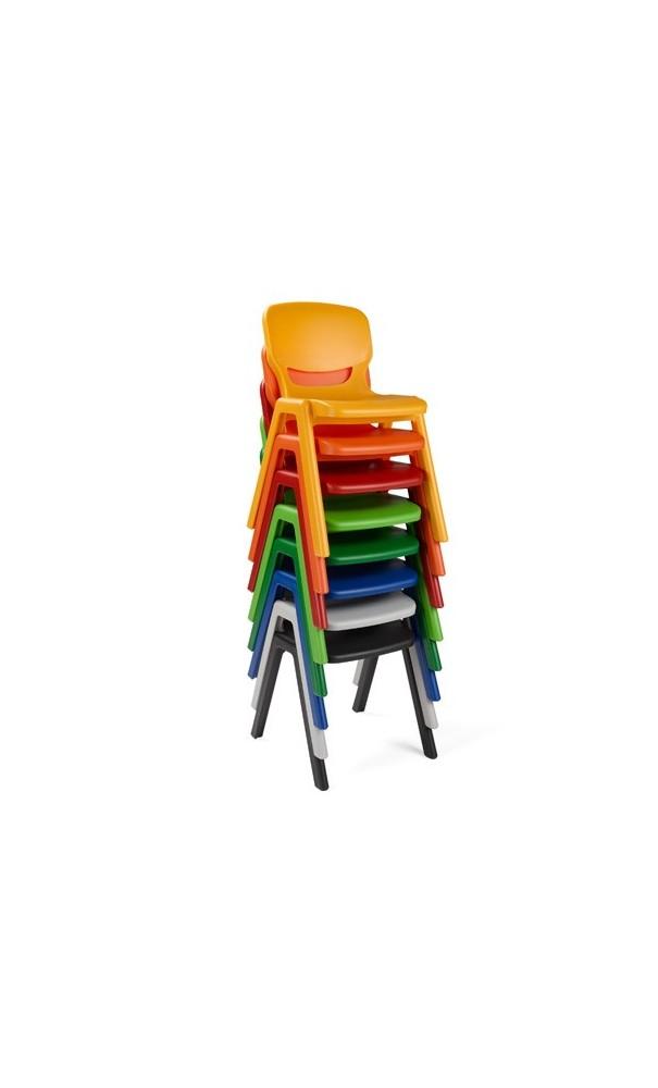 lot 2 chaises enfant t1 empilables
