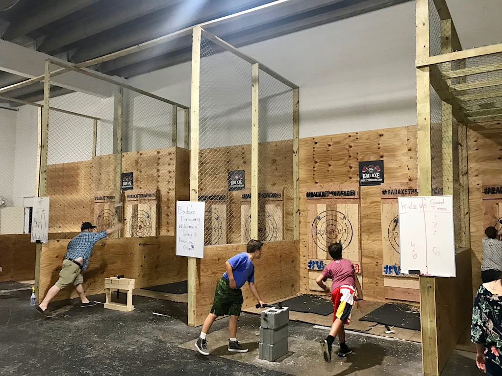 I First Heard About Bad Axe Throwing Last Spring When A Friend Told Me Shed Attended An Adult Birthday Celebration At The Venue In Northeast DC