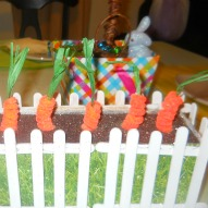 A Fun Thing To Do With Kids, An Easter Craft, Chenille Carrot Craft,