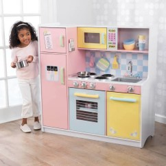 Kid Kitchens Kitchen Faucet Bronze Play Kitchenette Kids Sets Kidkraft Large Pastel