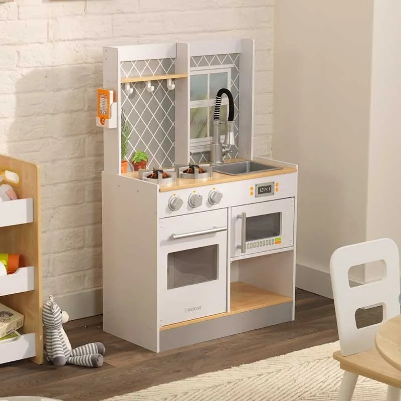 wooden play kitchen chelsea nook let s cook
