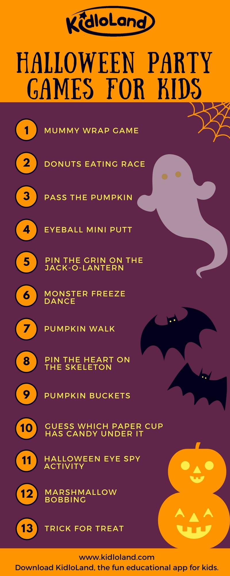 13 fun halloween party