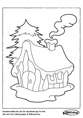 Download Free Christmas Coloring Pages 22 and educational