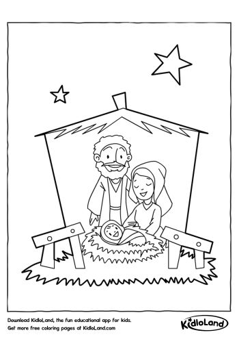 Download Free Christmas Coloring Pages 49 and educational
