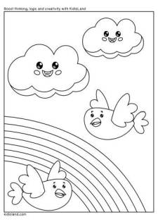 Download Free Printable Coloring Pages For Kids by KidloLand
