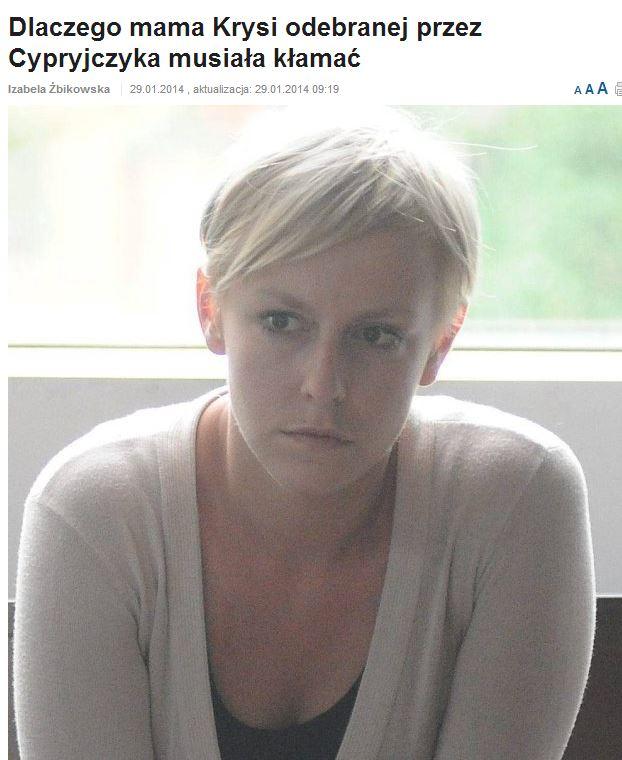 Marta Swiniarska - dlaczego kłamałam