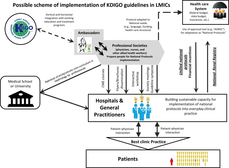 Understanding kidney care needs and implementation