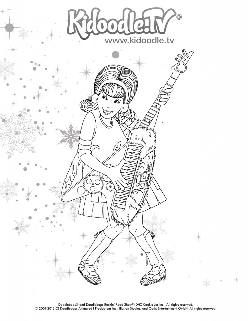 Love The Doodlebops? Get these Fun, Printable Holiday