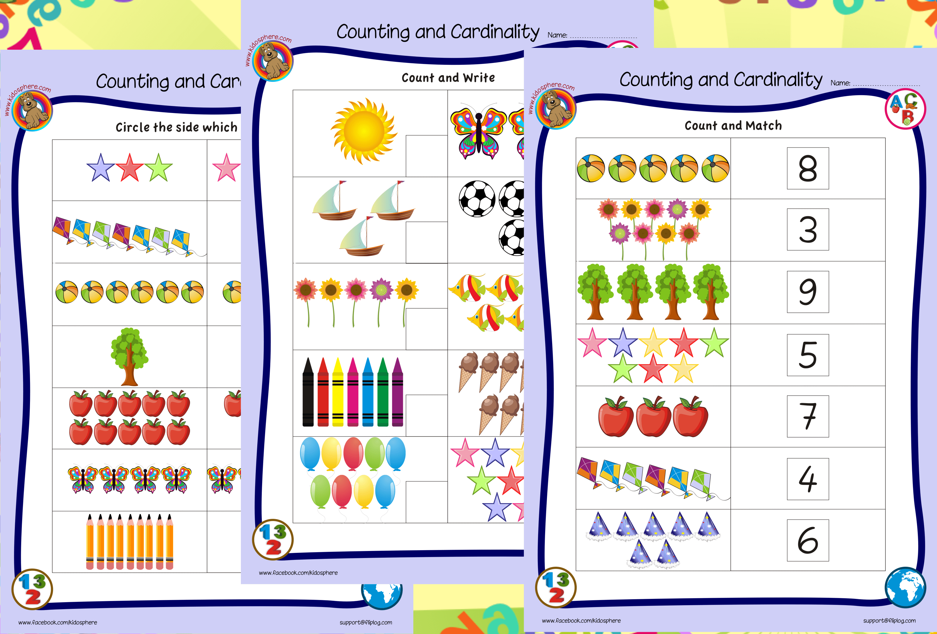 Cc Worksheets Counting Cardinality Kindergarten Cc Best