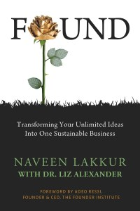 Book FOUND: Transforming Your Unlimited Ideas Into One Sustainable Business cover