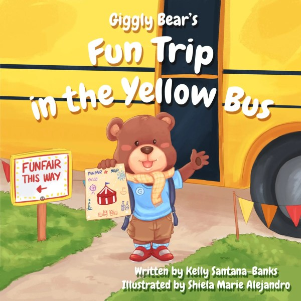 Giggly Bear's Fun Trip In the Yellow Bus cover - KIDPRESSROOM