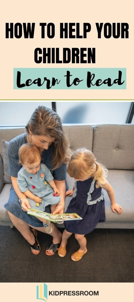 How to Help Children Learn to Read - KIDPRESSROOM
