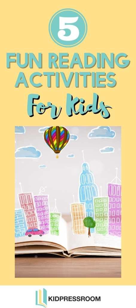 Tips on Fun Reading Activities For Kids - KIDPRESSROOM