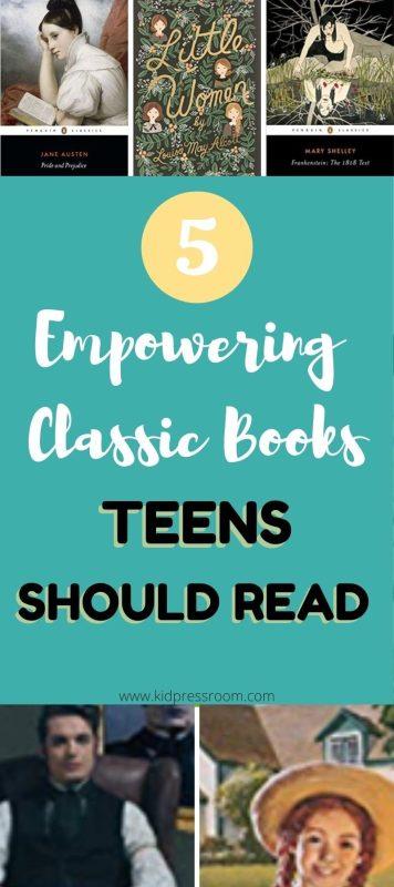 List of Classic Books Teens Should Read- KIDPRESSROOM