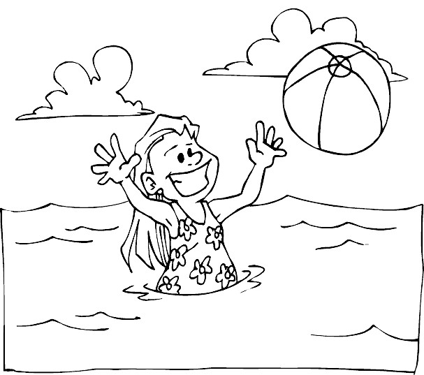 Pin Seaside Colouring In on Pinterest