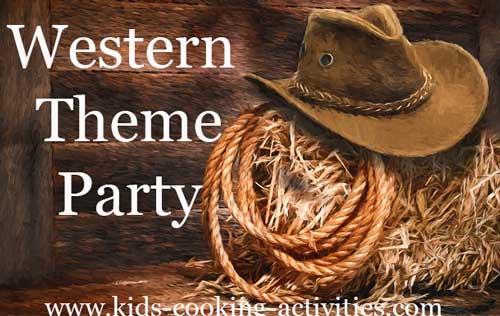 Western Theme Dinner