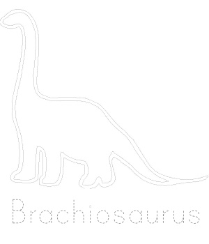 Dinosaur Tracing Pages