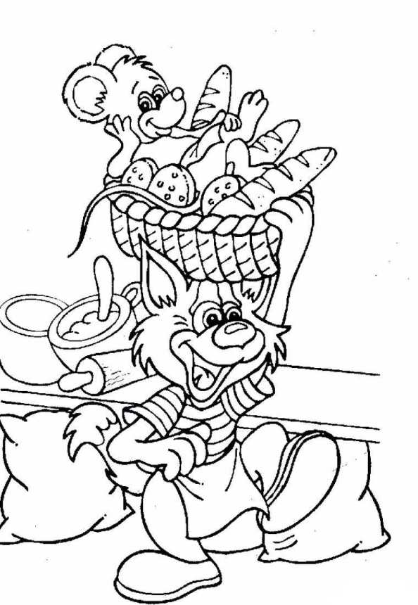 On The Start Coloring Page