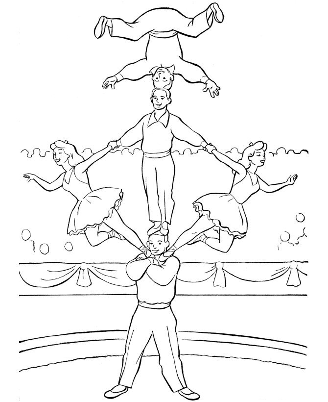 39 Coloring Pages Of Circus