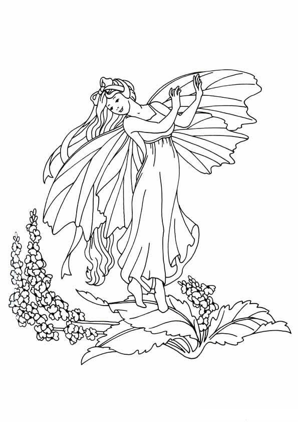Kids n funcom 40 coloring pages fairies, tinkerbell coloring pages