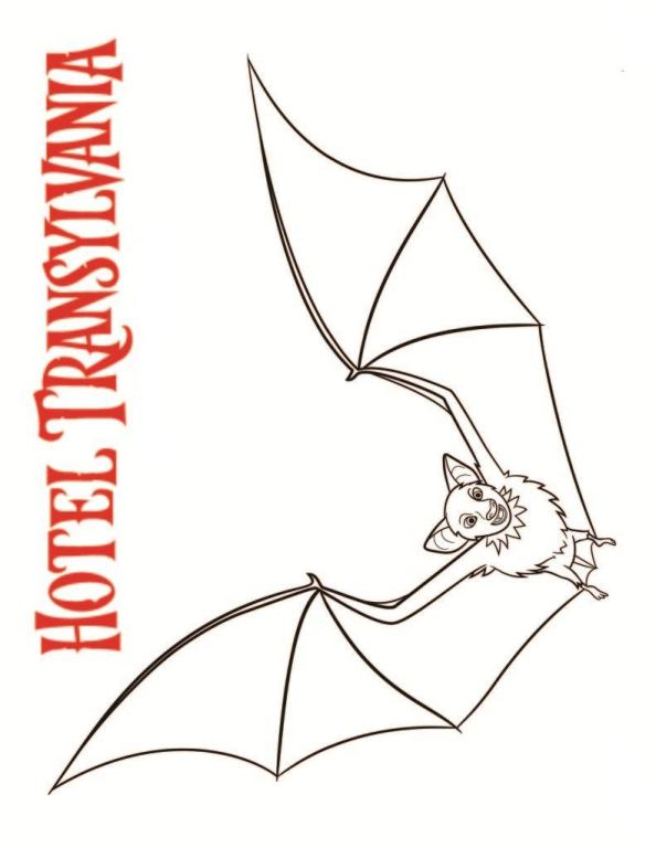 kidsnfun   coloring pages of hotel transylvania