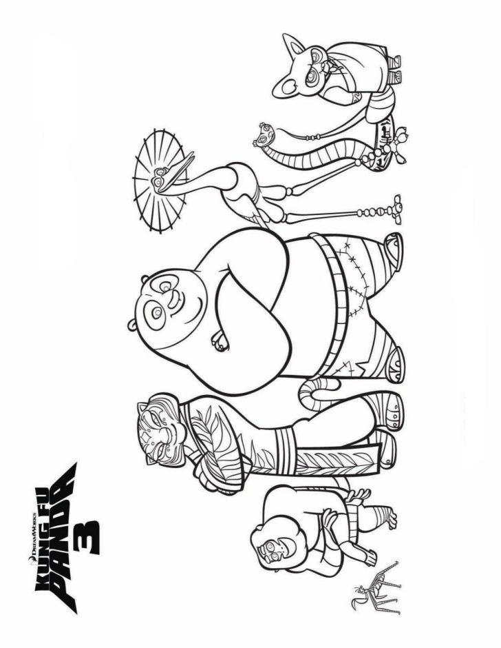 Animals And Flowers: Coloring Pages Kids N Fun. Kung Fu Panda Wallpaper Coloring Pages For Kids Fun Laptop High Resolution Kidsnfuncom Of