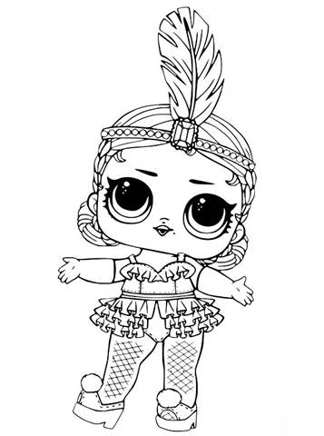 Kids-n-fun.com | 30 coloring pages of L.O.L. Surprise Dolls