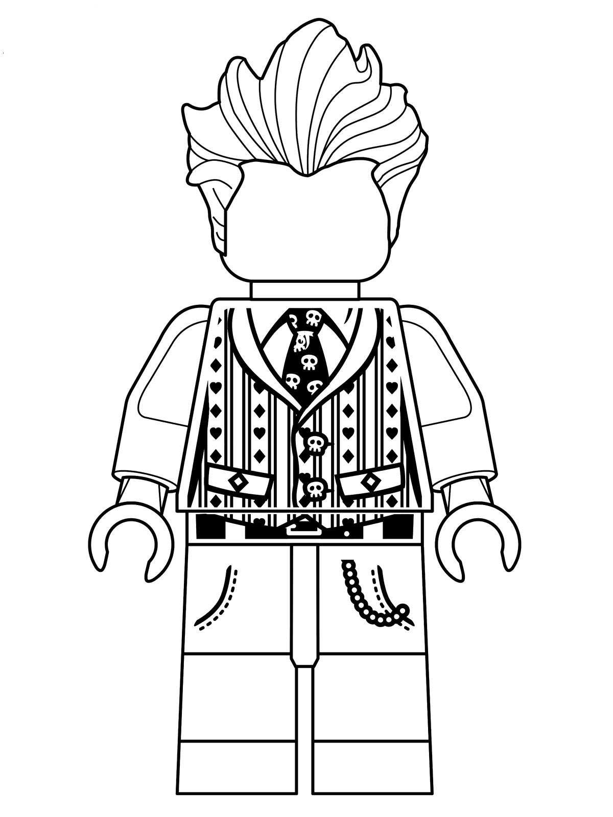 16 Coloring Pages Of Lego Batman Movie