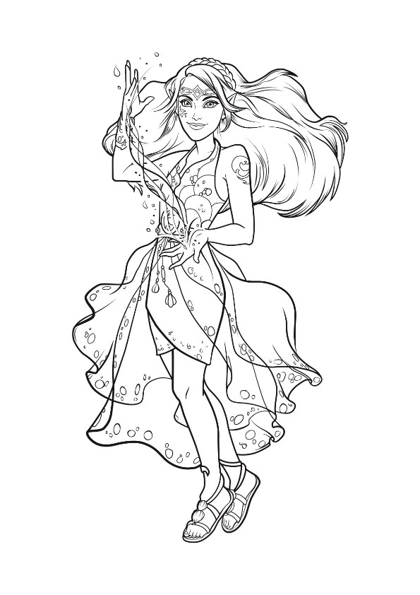 9 Coloring Pages Of Lego Elves