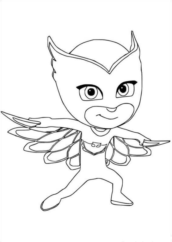 kidsnfun   coloring pages of pj masks