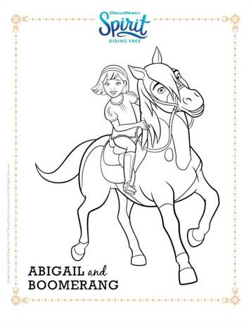 spirit stallion of the cimarron coloring pages # 22