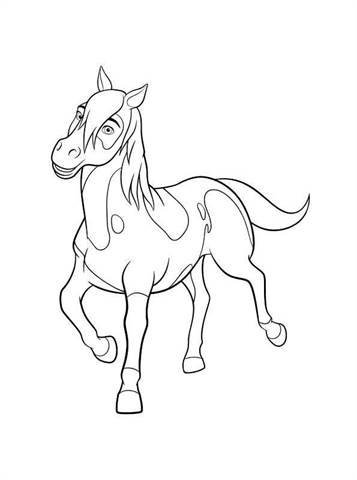 spirit stallion of the cimarron coloring pages # 53
