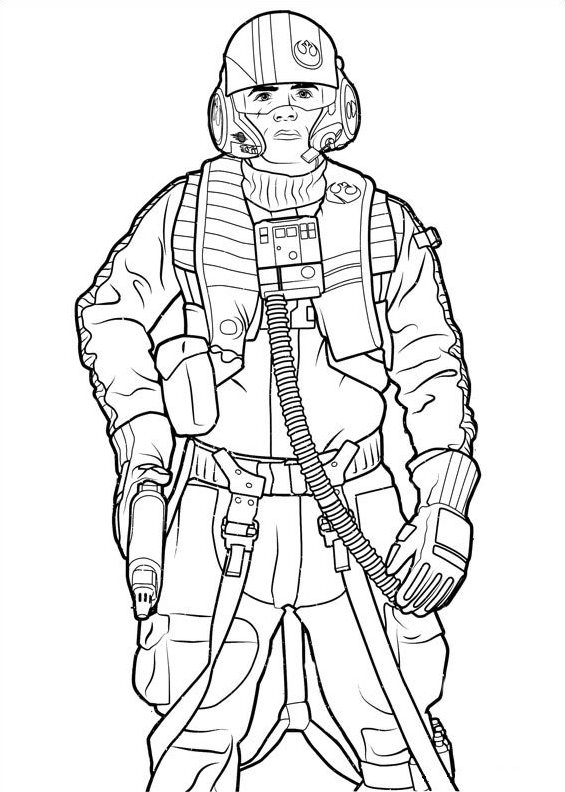 21 Coloring Pages Of Star Wars The Force