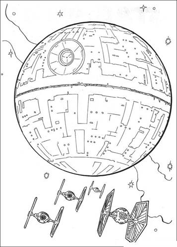 Kids N Fun Com 67 Coloring Pages Of Star Wars