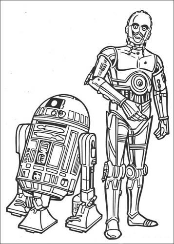 Kids N Fun Com 67 Coloring Pages Of Star Wars