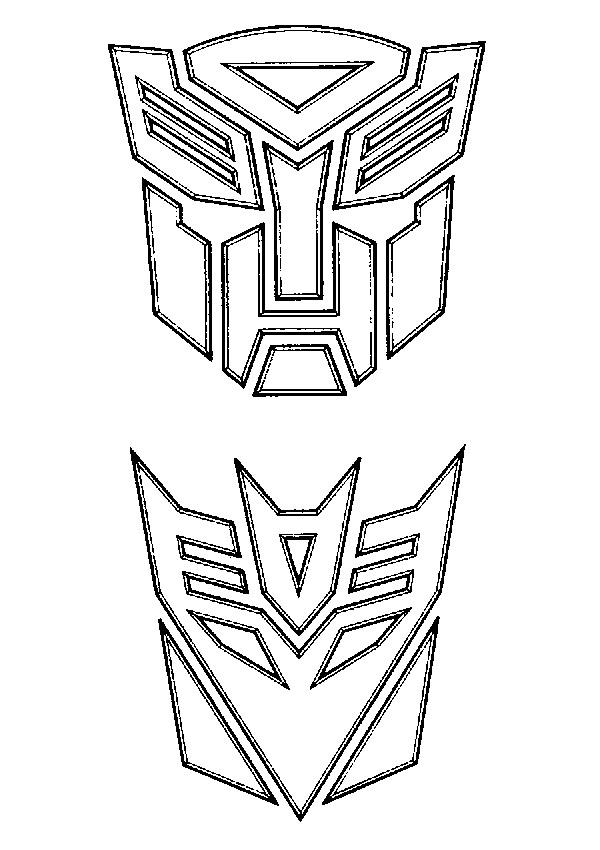Coloriage De Transformer Dessin Coloriage Transformers 2