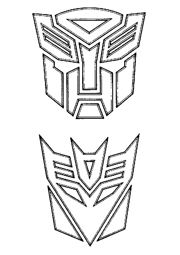 20 Transformer Symbol Coloring Pages Ideas And Designs