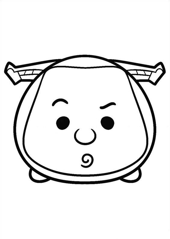 Tsum Tsum Coloring Pages Auto Electrical Wiring Diagram